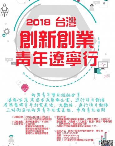 2018台灣創新創業青年遼寧行3